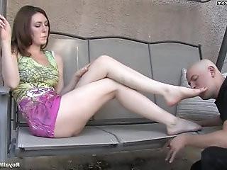 Foot fetish Mistress Megan Star