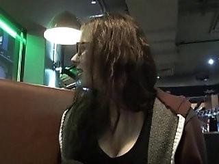 Upskirts toilet trip peeking and secret voyeur masturbation in a public bar