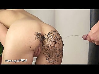 Blonde fucked and rinsed with pee