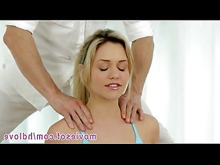 Flexible blonde Mia Malkova doggy fucked after her yoga