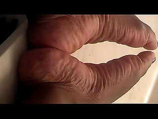 Priceless ebony wrinkled soles