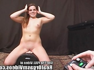 Hippie Chick Has Intense Mind Blowing Sybian G Spot Orgasm