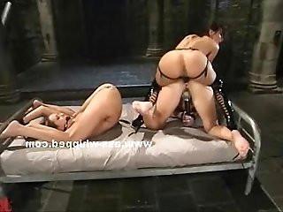 Mistress clamps a whore clit