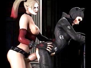Catwoman fuck