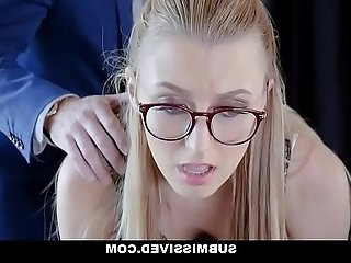 Submissived Sexy Secretary Brutal Fuck Punishment