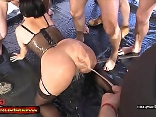 Cum and Piss for dirty Slut Mabea