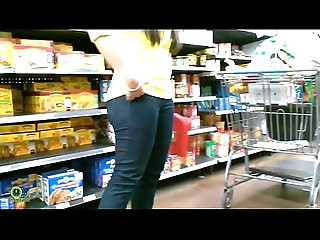 Cute Mamasita in Dark Blue Jeans!