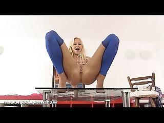 Carla Cox Stocking nylon pantyohose peeing