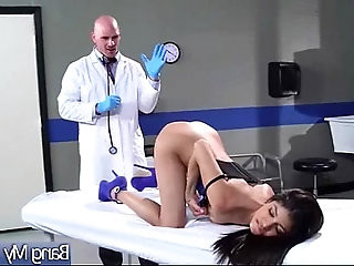 Hard Sex Tape With Dirty Doctor And Slut horny Patient veronica rodriguez clip