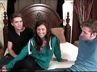 Casting fisting Brazen and Danielle aka Evi Fox