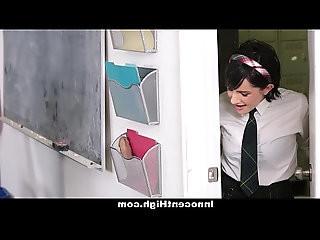 InnocentHigh Cutie Fucked Both Her Teachers