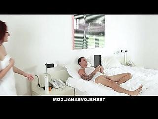 TeensLoveAnal Tatted RedHead Ass Fucked By Boyfriend