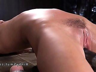 Petite slave in extreme bondage toyed