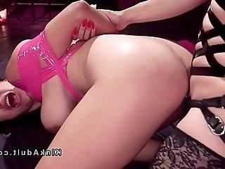 Lesbian bondage domination and anal