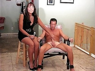 CFNM Post Orgasm Handjob