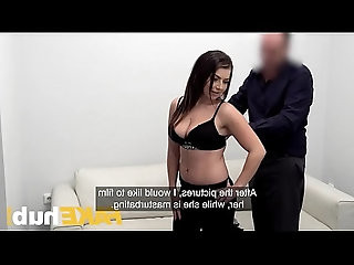 Fake Agent Hot slow sex with hot tight pussy on casting couch